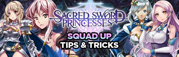 AgentShawnee Squads Up With Sacred Sword Princesses