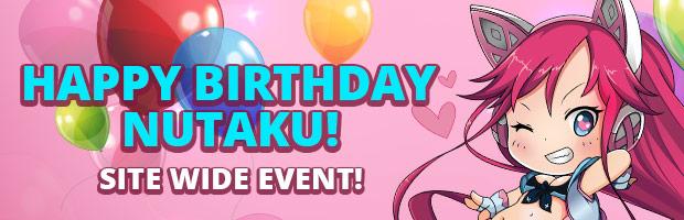 Nutaku 2nd Anniversary