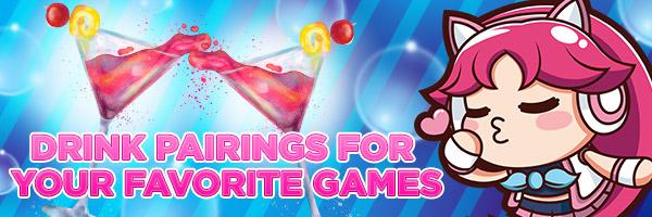Drink Pairings for your Favorite Nutaku Games