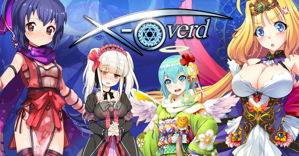X-Overd Launches on Nutaku