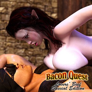 Bacon Quest: Lover's Beef Special Edition