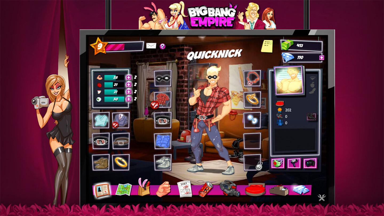 rpg Game - Big Bang Empire Online