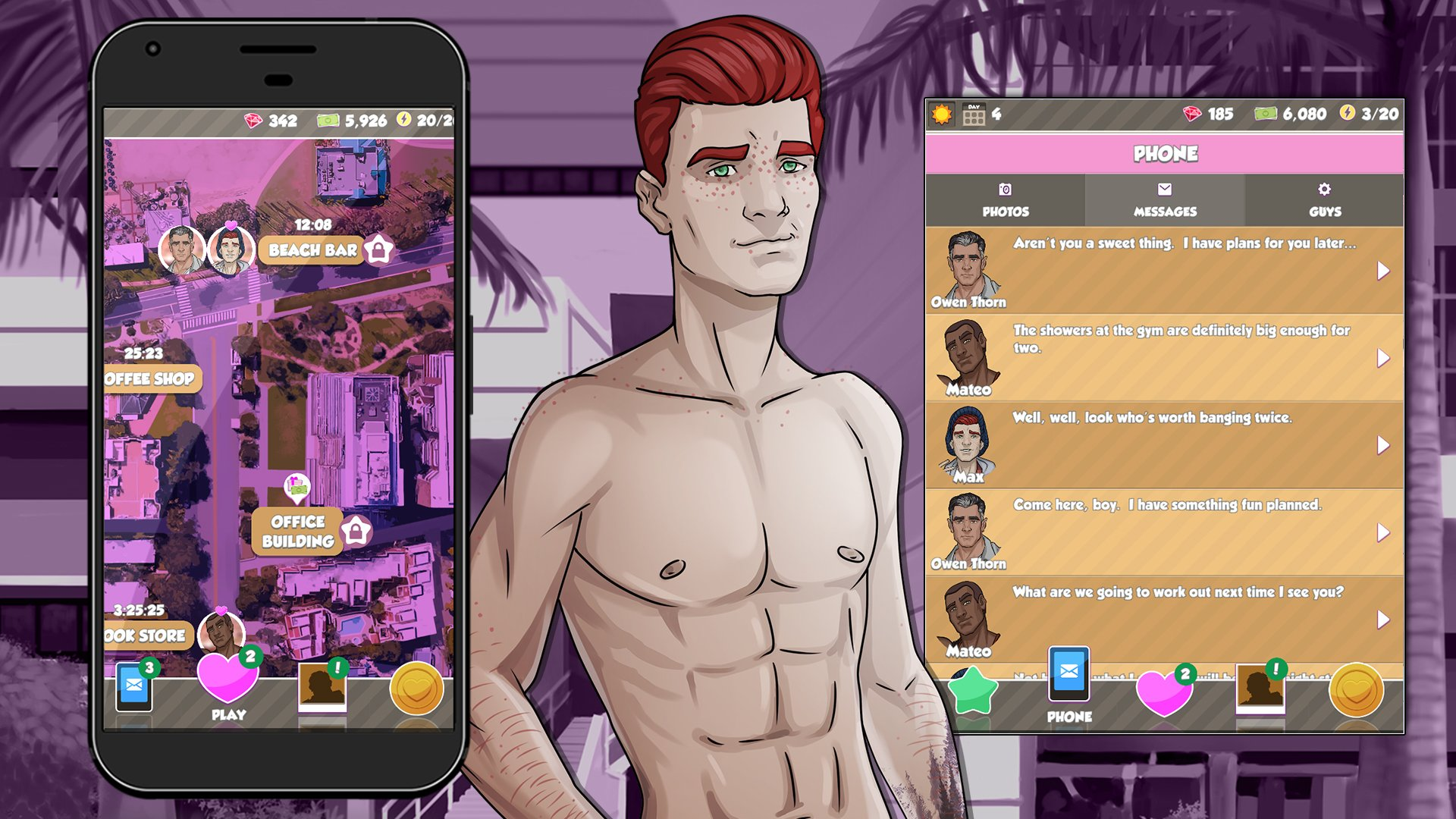 Men in action 2 descargar pelicula porno Booty Calls Men At Work Puzzle Sex Game Nutaku