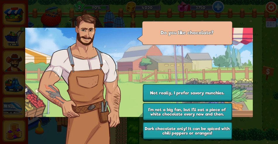 dating-sim Game - Cockville
