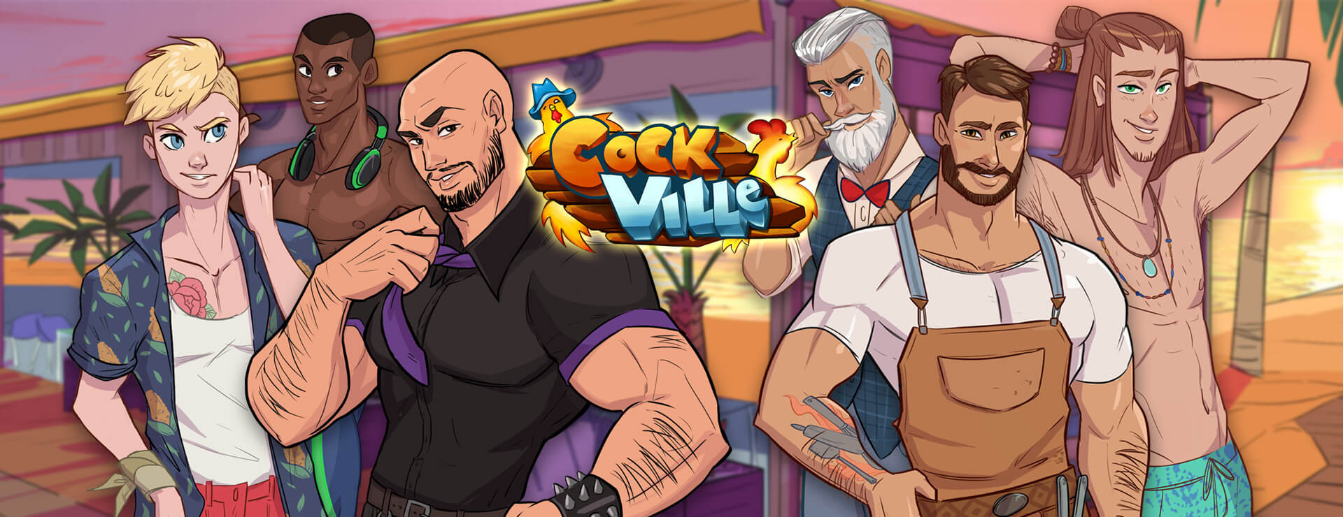Cockville - Dating Sim Game