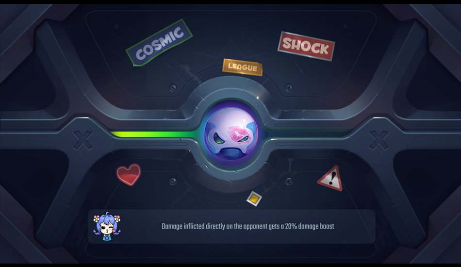 strategy Game - Cosmic Shock League