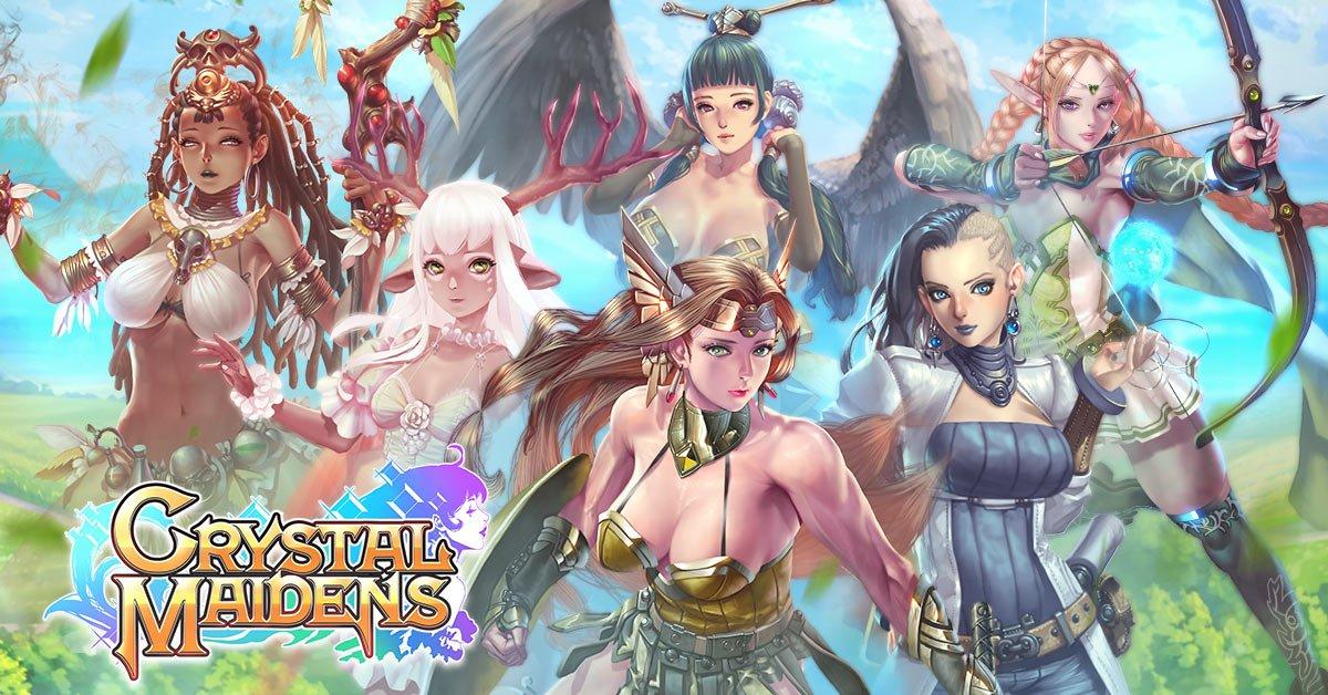 Nutaku crystal maidens