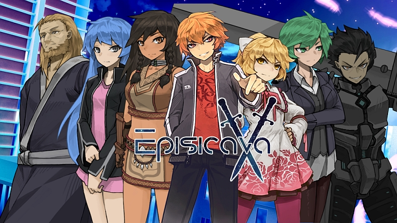 Episicava - Visual Novel Game