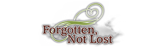 Forgotten Not Lost