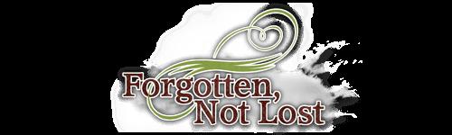 Forgotten Not Lost