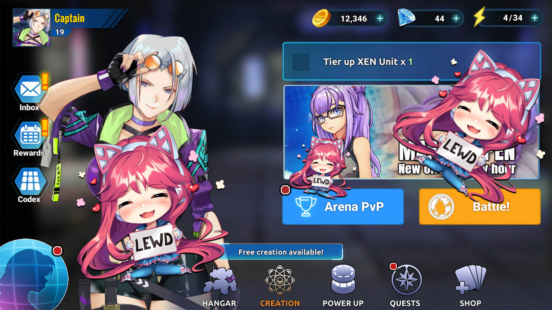 rpg Game - Heavy Metal Babes Game