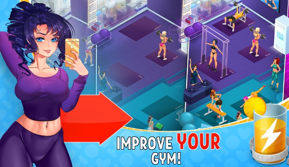 (18+)Hot Gym (MOD, Unlimited Money/Free WheelCount/Jackpots) v1.2.0 5