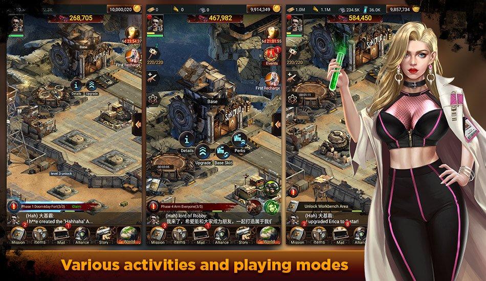 simulation Game - King of Wasteland