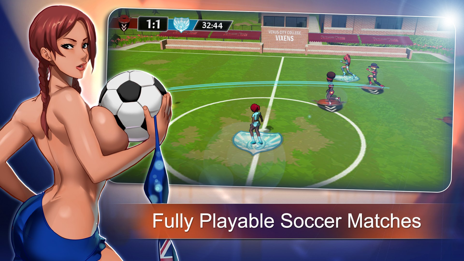 sports Game - Lewd League Soccer