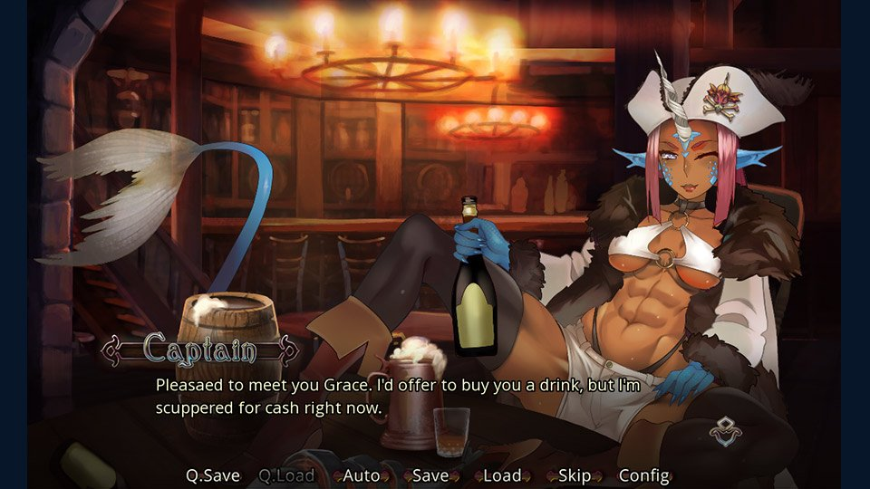 visual-novel Game - Mutiny!!