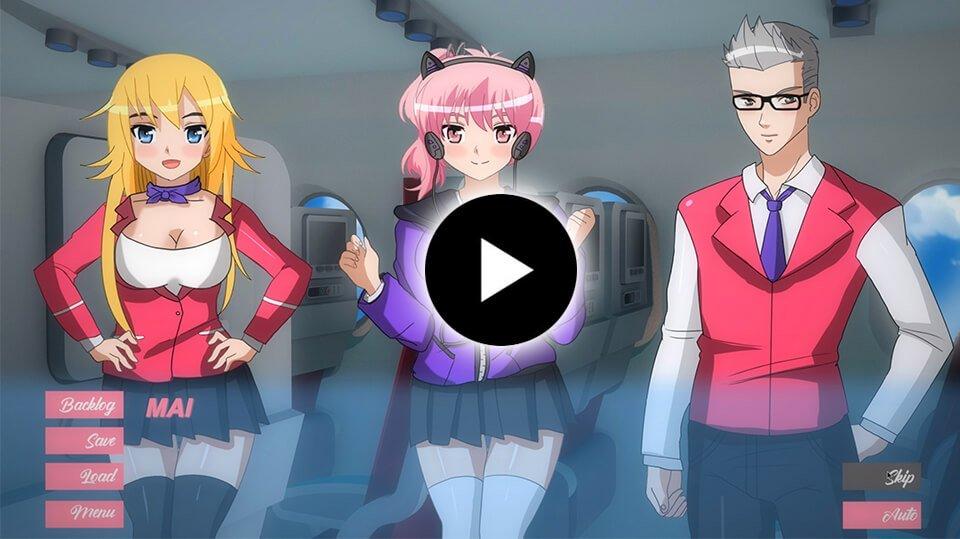Pleasure Airlines - Visual Novel Game