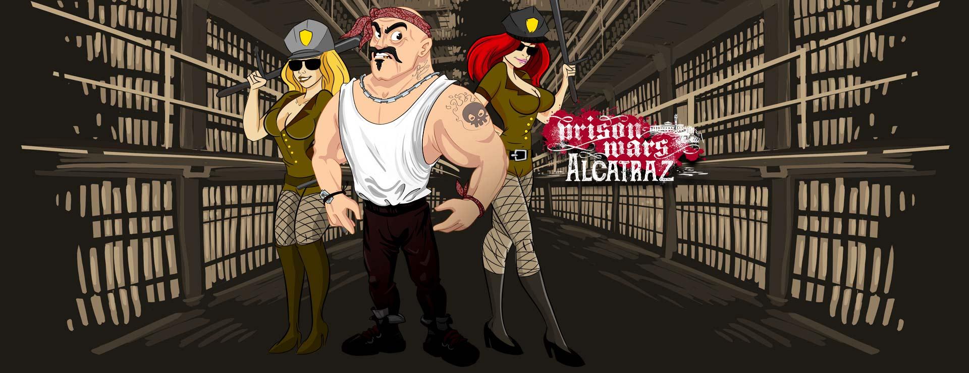 Prison Wars - Simulation Game