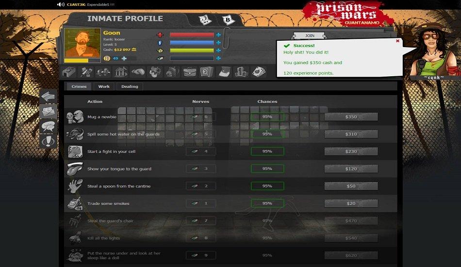simulation Game - Prison Wars