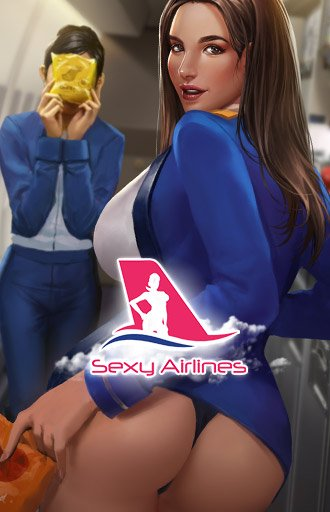 Sexy Airlines - Exclusive Nutaku Game