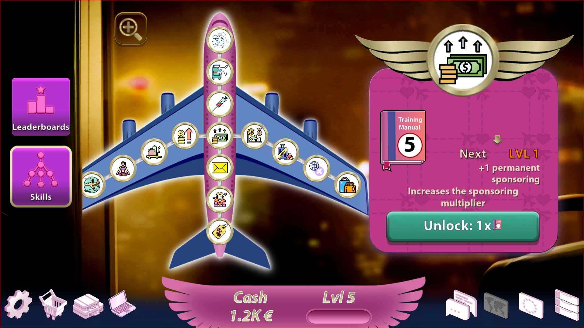 idle Game - Sexy Airlines
