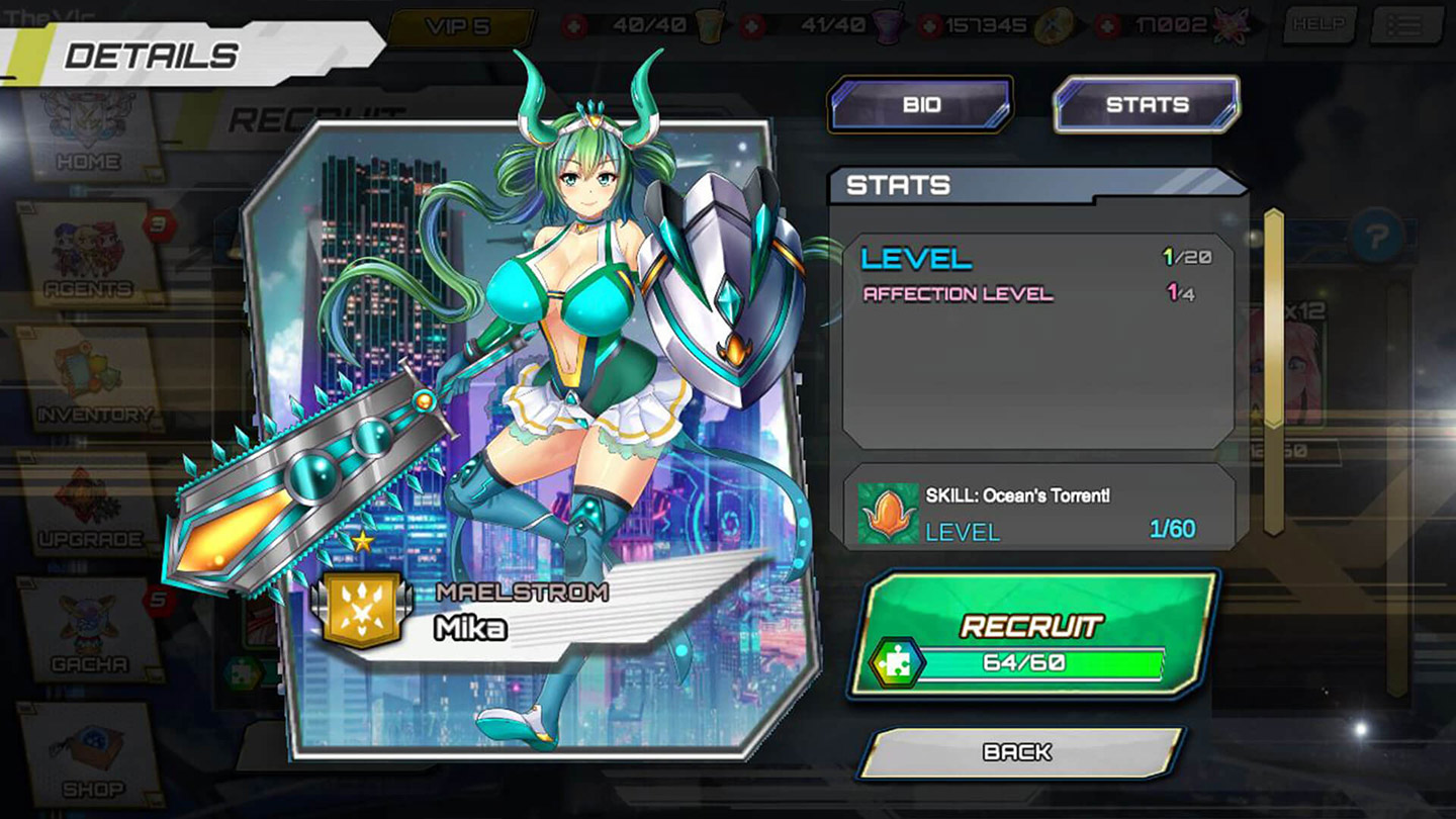 action-adventure Game - SF Girls Game