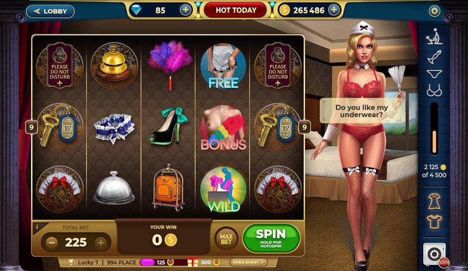 casino Game - Slot Bitches