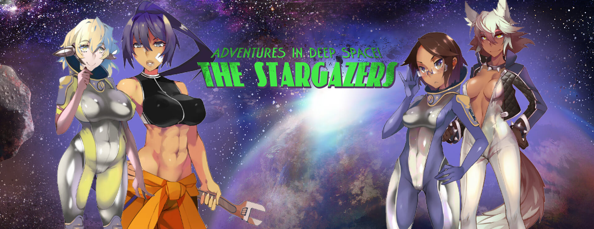 Stargazers - Visual Novel Game