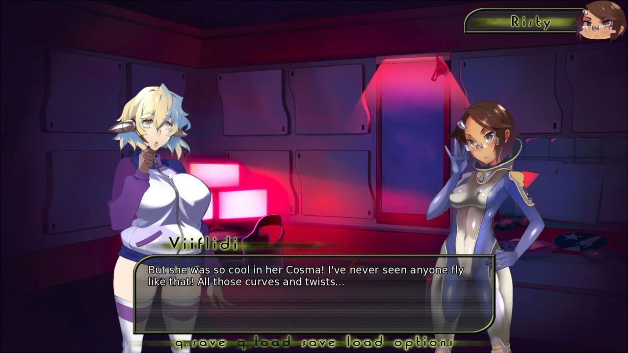 visual-novel Game - Stargazers