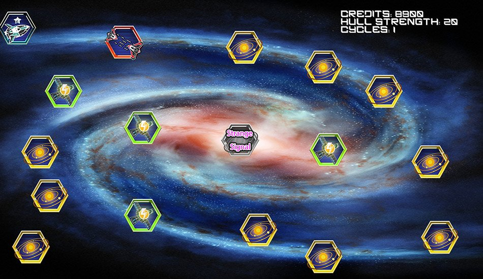 visual-novel Game - Starlight Drifter