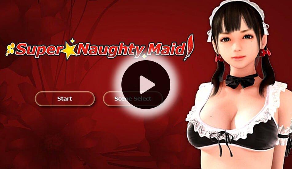 Super Naughty Maid 1 - Simulation Game