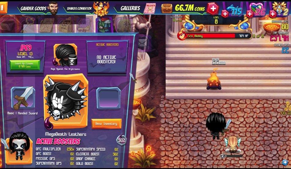 casual Game - Taps of Eradine