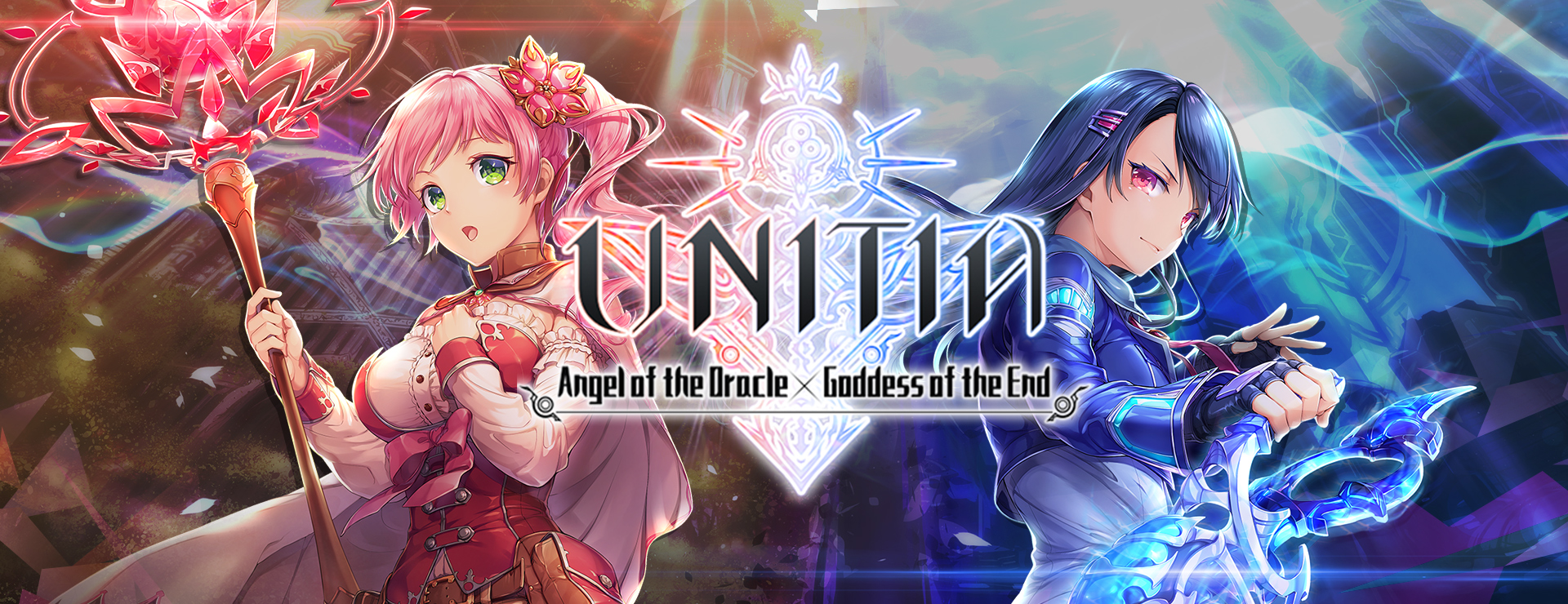 UNITIA: Angel of the Oracle X Goddess of the End - Card Battle RPG Game