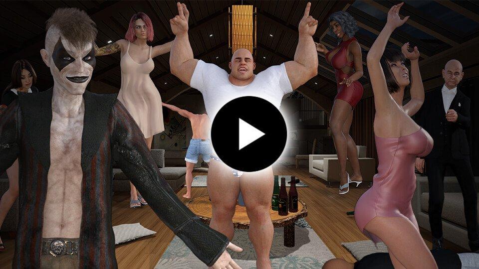 Villa Party I - Action Adventure Game