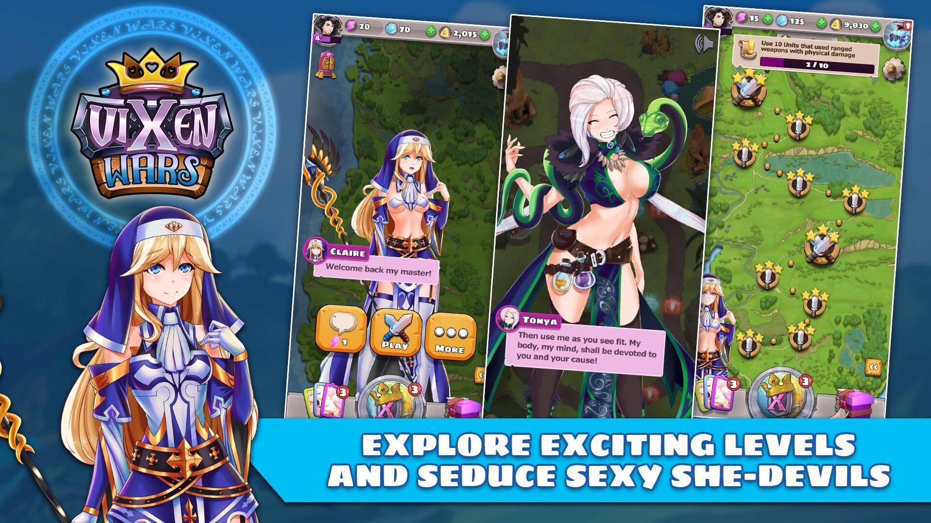 action-adventure 遊戲 - Vixen Wars Game