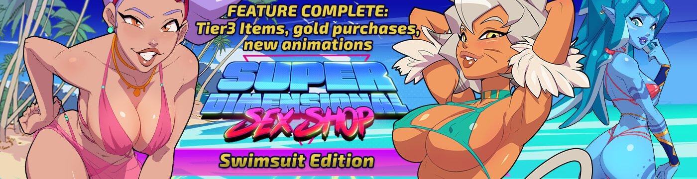 Superdimensional Sex Shop