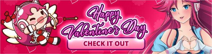 Nutaku Valentine's Day Promo